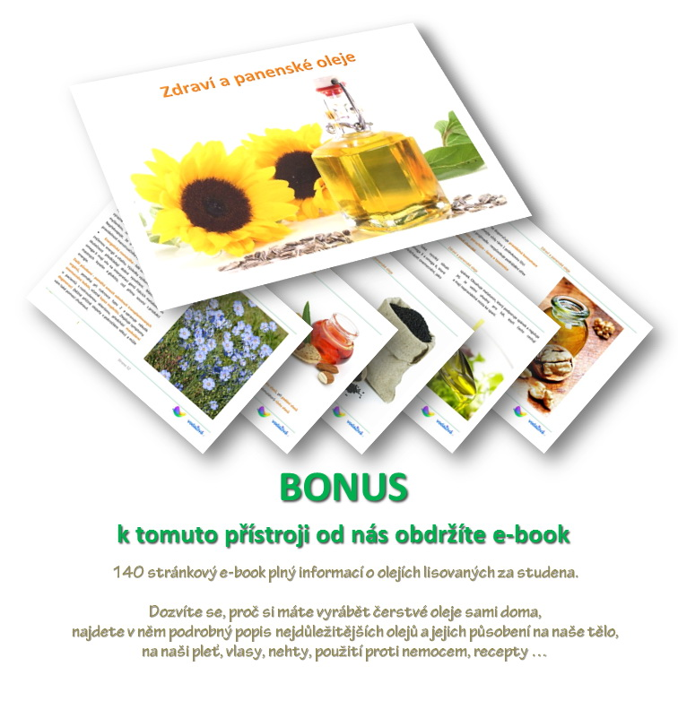 E-book Zdraví a panenské oleje - BONUSový dárek zdarma