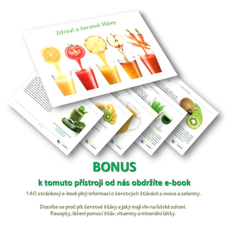 E-book Zdraví a čerstvé šťávy - BONUSový dárek zdarma